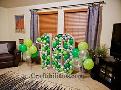 GIANT mosaic numbers / letters filled with balloons - Party decoration idea - DIY How to make tutorial - birthday Small Balloons, Number Balloons, Letter Balloons, Birthday Balloon Decorations, Diy Party Decorations, Birthday Balloons, Large Cardboard Letters, Diy Letters, Diy Birthday Number