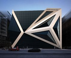 This Pyramid building has been designed by Samed Farid Architects
