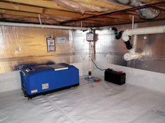 How to insulate a crawl space with a dirt floor crawl spaces insulated crawl space with our energy efficient dehumidifier installed tyukafo