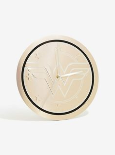DC Comics Wonder Woman Metallic Clock,