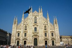 Duomo in Milan, Italy