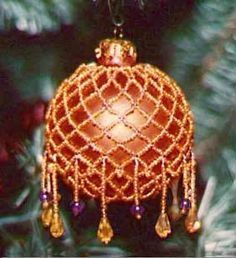 How to Make Holiday Beaded Ornaments Tutorials - The Beading Gem's Journal