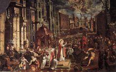 imagens de santo antonio e o milagre da mula - Pesquisa Google