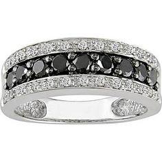 Black Wedding Rings for Women Model