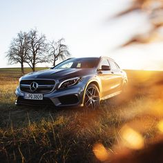 Best traction as standard: The Mercedes-AMG GLA 45 4MATIC.  Photo by Ranier Fernandez (http://www.fernandez-world.com) for #MBsocialcar  [Mercedes-AMG GLA 45 4MATIC | Fuel consumption combined: 7.4 l/100km | combined CO₂ emissions: 172 g/km | http://mb4.me/efficiency_statement]