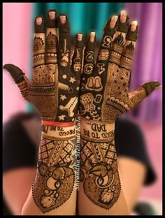 Creative Baby Shower Mehendhi Ideas We Came Across! Baby Mehndi Design, Mehndi Designs Book, Legs Mehndi Design, Indian Mehndi Designs, Full Hand Mehndi Designs, Stylish Mehndi Designs, Mehndi Designs 2018, Mehndi Designs For Girls, Mehndi Design Pictures