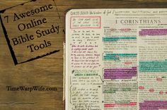 online-bible-study-tools