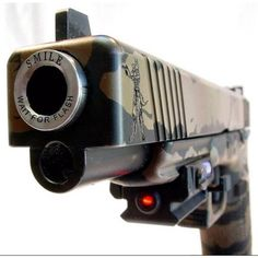 Smile and wait for the flash! Glock
