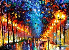 rain painting - Google Search