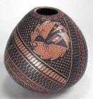Mata Ortiz Pottery by Fabiola Silveira de Villalba - Bee Olla