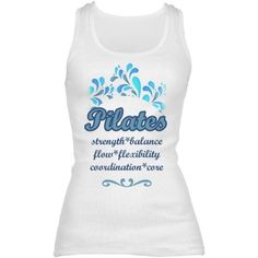 Pilates blues | Share your love of Pilates while you workout!  Samira