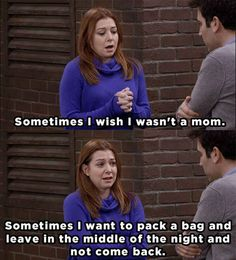 When Lily was painfully honest about the struggles of adapting to motherhood.
