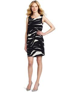 Cluny Women's Zebra Print Shift Dress | Traveling Of Life