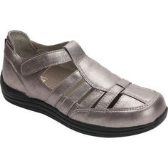 06f1f4c40a75 Women s Drew Ginger (Red) Fisherman Shoe Dusty Pewter Leather (US Women s  10 W