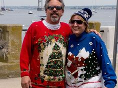 Photo Fest: 15 Ugly Christmas Sweaters You'd Never Wear  Read more: http://www.rd.com/slideshows/photo-fest-15-ugly-christmas-sweaters-youd-never-wear/#ixzz3LRNNdt4u