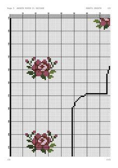Seccade Modelleri - #Modelleri #Seccade - #seccadeler #seccade #kabe #namaz #seccade #modelleri #trend #muslim #muslüman Cross Stitch Pillow, Cross Stitch Rose, Prayer Rug, Cross Stitch Patterns, Needlework, Diy And Crafts, Flowers, Pink Tablecloth, Simple Cross Stitch