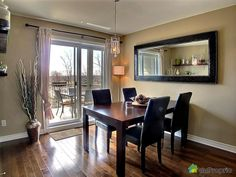 open concept formal living and dining rooms | Condo for sale in Longueuil, 302-1906, rue des Prunelliers | DuProprio