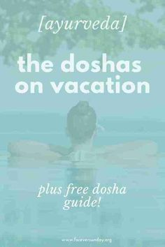 What is your ayurvedic type like on holiday? Learn all about the doshas on vacation and get travel tips for every dosha. What is your ayurvedic type like on holiday? Learn all about the doshas on vacation and get travel tips for every dosha. Holistic Medicine, Holistic Healing, Natural Medicine, Natural Healing, Ayurvedic Types, Ayurvedic Healing, Ayurveda Yoga, Emotional Strength, Recipes