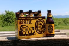 Woodchuck Barrel Select Private Reserve Cider - lots of vanilla and bourbon flavours, delicious!