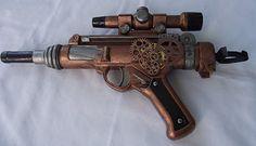 DIY Steampunk gun made from a nerf gun