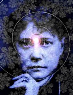 Helena Blavatsky - Third Eye spiral