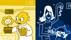 Gold and Blue Undertale Ost, Undertale Drawings, Maker Game, Rpg Maker, Toby Fox, Indie Games, Card Games, Video Games, Anime