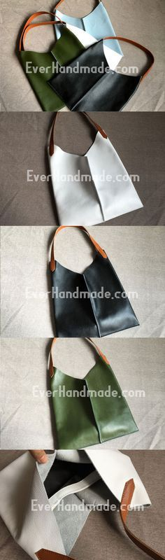 9d3b0f439d1 Genuine Leather Bag Handmade Vintage Leather Tote Bag Tassen Handgemaakt,  Lederen Tassen Handgemaakt, Lederen