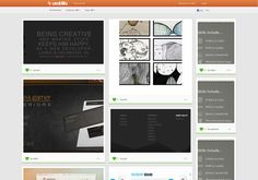 http://discover.usabilla.com/ sort of web design pinterest
