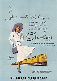 Union Pacific Streamliner 1950
