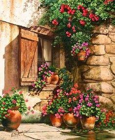 'Garden In Bloom' ~ Victor Arriola
