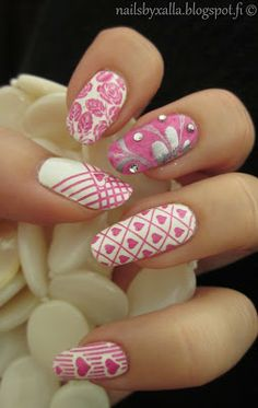Water marble and stamping