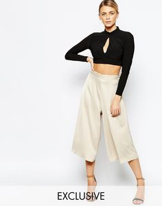 Love Sateen Culottes