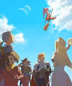Tales Of Phantasia, Tales Series, Video Games, Backgrounds, Fan Art, Anime, Fictional Characters, Games, Videogames