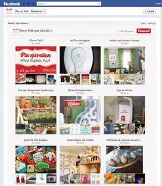 """""""Pinterest Tab for Facebook.  Pinterest is no longer allowing their pages to be loaded in an IFRAME, which is the typical method people were using to get their boards to display on Facebook.  Fortunately, Woobox came up with a solution!"""""""
