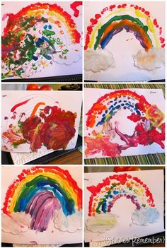Fingerprint Rainbow #GaleriAkal Untuk berbagi ide dan kreasi seru si Kecil lainnya, yuk kunjungi website Galeri Akal di www.galeriakal.com Mam!