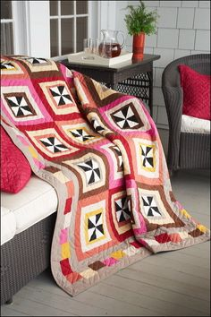 nancy rink quilt patterns   Spin Cycle by Nancy Rink Designs