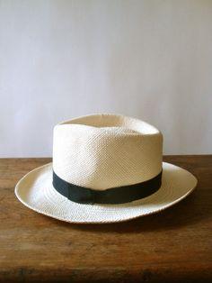 Vintage Scala Panama Hat. Sombreros ... 7a5f8b3da7ce
