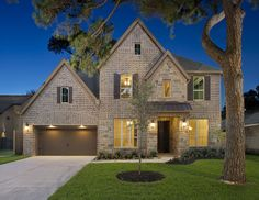 Perry Homes Oak Forest Estate Series Design 4294 Houston Tx