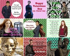 Doctor Who Week Valentine FREEBIES 36 AWESOME Doctor who VALENTINES!!! @Shari Hennings  would your lil bit like these? ;)