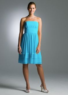 David's Bridal Short Strapless Pleated Dress in Crinkle Chiffon Style 83362, Malibu, 2 David's Bridal,http://www.amazon.com/dp/B008FY2PJW/ref=cm_sw_r_pi_dp_QpRmrb1KGR3TNQN1