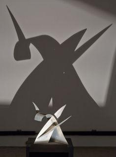 sculpture and shadow play- Alexander Calder