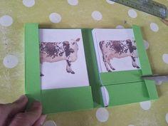 Aux Couleurs de Montessori: Tutoriel : Fabrication de pochettes pour les cartes en 3 parties