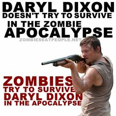 Daryl Dixon - Norman Reedus, The Walking Dead Walking Dead Funny, Walking Dead Zombies, Fear The Walking Dead, Twd Memes, Stuff And Thangs, Daryl Dixon, Best Shows Ever, I Laughed, Laughter