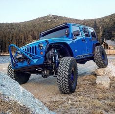 Save by Hermie Jeep Jl, Jeep Truck, Blue Jeep, Offroader, Custom Jeep, Jeep Gladiator, Jeep Life, Dream Cars, Jeep Wranglers