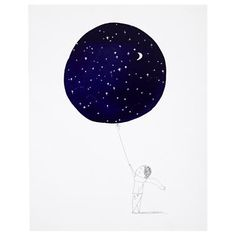 This is my inspiration for the nook space, a dreamy, twinkling night sky. The pure joy and awe of childhood.