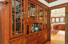 1356 VERSAILLES Ave, Alameda, CA 94501 | MLS# 40707182 | Redfin Craftsman Dining Room, Craftsman Interior, Craftsman Kitchen, Craftsman House Plans, Craftsman Style, Craftsman Decor, Craftsman Furniture, American Craftsman, Antique Interior
