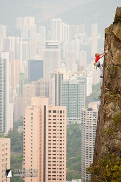 Monique Forestier, Peel Street (6b ), Soho Crag, Central, Hong Kong.