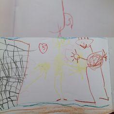 Max, 1e klas. Oefenschrift letters leren schrijven en bijbehorend tekenen (#2)