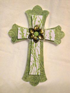Cross (love the green)