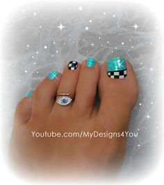 207 Best Pedicure Toenail Art images in 2019 | Art gallery, Nail art ...